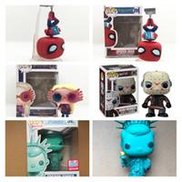 Wholesale spiderman toy model for sale - FUNKO POP The Avengers Super Hero Returns Spiderman Jason Luna FREDDY SE Characters Model Vinyl Action Toy Figures for Children gift