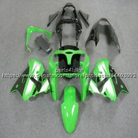 Wholesale motorcycles kawasaki ninja body kit resale online - 23colors Gifts green white motorcycle Fairing For Kawasaki ZX9R ZX R ZX R ABS plastic Body kit