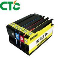 cartouches compatibles hp achat en gros de-Pack de 4 cartouches de remplacement compatibles pour 950 951 xl pour Officejet Pro 8600 8620 8630 2768640 8660 8615 8625