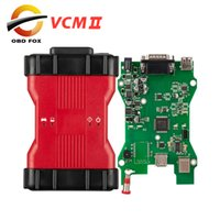 Wholesale vcm scanner - 2018 V100 VCM II Car Diagnostic Tool VCM2 for Ford obd2 tool vcm 2 ids for Mazda diagnostic scanner High quality free shipping