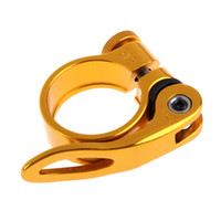31.8mm Quick Release Seatpost Clamp Aluminum Alloy MTB Mountain Bike Cycling Saddle Seat Post Clamp QR Style Bicycle Part