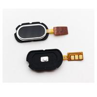meizu m2 toptan satış-Meizu M2 Not 5.5 Düğme Dokunmatik Kimliğin Anahtar Yedek İçin Yeni Ev Düğme Parmak İzi Sensörü Flex Kablo Şerit