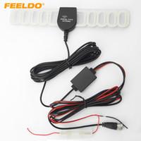 dvb cars 2018 - FEELDO Car F Connector Active DVB-T TV Antenna Aerial With Built-in Amplifier #951