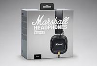 Wholesale Professional Iphone - Marshall Major II 2 headphones With Mic Deep Bass DJ Hi-Fi Headphone HiFi Headset Professional For Iphone X 8 Plus Note8 S9+