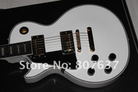Wholesale left handed electric guitars shop for sale - Group buy Custom shop signature white Left hand made in USA perfect Electric guitar