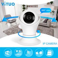 ağ video güvenliği toptan satış-HD 1080 p Wifi IP kamera HD Cctv Kamera Video Kablosuz Güvenlik Kameralar Ev Güvenlik Gözetleme Kamerası Bebek Monitörü YITUO