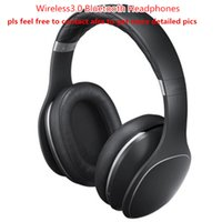 Wholesale headphones bluetooth bass - Newest Bluetooth Wireless 3.0 Headphones Top Quality Headband Earphones with Great Bass Headsets Sealed Retail Box