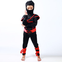 ingrosso naruto cosplay-bambini naruto Ninja Costume cosplay Cool Boys black knight Costume Bambini Fancy Dress Costume di Halloween per i bambini