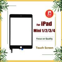ipad mini digitizer ersatz schwarz großhandel-Touchscreen für iPad mini 1 2 3 4 Digitizer Screen Glass Ersatz für Apple iPad Mini 1 2 3 4 Schwarz Weiß