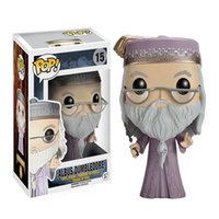 Wholesale big toy garage - Dumbledore Sirius Garage Kits Action Figures Ornaments Models Q Version Doll Shaking Head Doll Video Game Toys