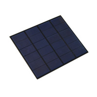 Wholesale mp3 tests online - 5Pcs W V DIY Polycrystalline Solar Cell Panel PET EVA Laminated Solar Cell Size mm mm for Solar System and Test