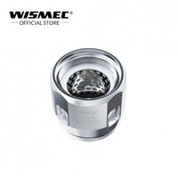 Wholesale Official Store Wismec WM M ohm Head Replacement coils head run at W for Wismec Sinuous RAVAGE Gnome Kit