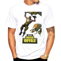 Wholesale modal clothes for sale - Fortnite T shirt Types Modal Breathable Comfortable Shirt cm Summer Clothing Battle Royale Short Sleeve Tees For Adults