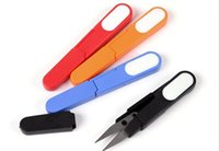 Wholesale Thread Clippers Sewing - 120pcs Clippers Sewing Trimming Scissors Nipper Embroidery Thrum Yarn Fishing Thread Beading Cutter Mini tool C019