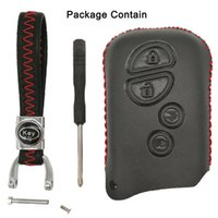 lexus leather key großhandel-Leder Schlüsselanhänger Fernbedienung für Lexus RX350 ES350 IS250 GX460 LX570 IS350 GS430