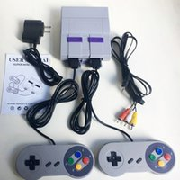 Wholesale 16 bit tv video games resale online - 16 Bit Super MINI SFC TV Game Console Can Store Games For SFC Retro bit Video Game Player with Controllers