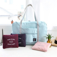Wholesale babies clothes shops - Mommy Sling Bags Single Shoulder Bag Portable Folding Tote Bags For Baby Lage Shopping Clothing Shoes Diaper  Nylon Solid