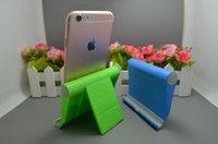 красивый держатель телефона оптовых-Держатель телефона Универсальный телефон стенд с красивым пакетом складной сотовый телефон поддержка ABS для iPhone 8P 6 7 8 X DHL доставка