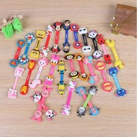 Wholesale cute headphones for sale - Group buy Cute Cartoon Multi Patterns Earphone Cable Winder Protector Wire Cord Organizer Protetor For iPhone Samsung Headphone USB Cable