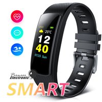Wholesale i6 wristband online – i6 HRC Smart Bracelet Fitness Tracker Color Screen Fitness Watch Activity Tracker Smart Band heart rate monitor Bluetooth Wristband