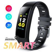 i6 bracelet élégant achat en gros de-I6 HRC Smart Bracelet Fitness Tracker Couleur Écran Fitness Montre D'activité Tracker Smart Bande fréquence cardiaque moniteur Bluetooth Bracelet