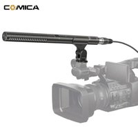 Wholesale camcorder cables - COMICA CVM-VP2 Shotgun Microphone Super Cardioid Condenser Photography Interview Video Mic for Camera Camcorder with 3.5mm & XLR Cable