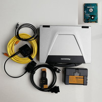 Wholesale diagnostic computer cars resale online - V12 Full set Ready to use Icom A2 for BMW GB HDD CF52 I5 G used Laptop computers Diagnosis scanner cars diagnostic tools