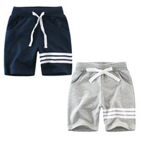 Wholesale character panties - Casual Pants For Boys Clothes Children Harem Pant Striped Baby Boy Shorts Panties Cotton Kid Sport Trouser 2-7 Year Soft