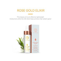 Wholesale wholesale beauty items - High Quality 24k Rose Gold Elixir Skin Infused Beauty Oil Essential Oil Before Primer Foundation Moisturizing Face Oil hot item