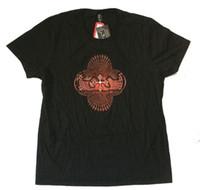 imagem única da camisa venda por atacado-FERRAMENTA Corpo Vermelho Espiral Imagens Camisa preta T Novo Produto de Banda Oficial Equipar Algodão Exclusivo Mangas Curtas O-pescoço T-Shirt