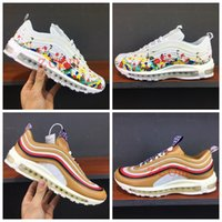 Wholesale chinese shoes brands - New 97 TT PRM CNY Running Shoes Women Men Chinese New Year Multicolor Dark Brown Bullet Hybrid Brand Ourdoor Sports Sneakers Size36-44