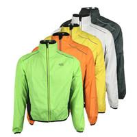 ingrosso bicicletta giacca-Giacca da bicicletta ultra leggera Tour De France Bike Antipioggia Impermeabile Road Track MTB Aero ciclismo Cappotto da uomo Abbigliamento Quick Dry