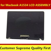Wholesale 12 inch lcd screen resale online - Original A1534 LCD Screen Assembly Gold Sliver for INCH year MF855 MF856 EMC