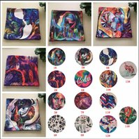 abstraktes sofa großhandel-45 * 45CM Abstract Scrawl Printed Kissenbezug Flamingo Cotton Leinen Floral Kissenbezug Doodle Sofa Kids Kissenbezug 14 Styles AAA792