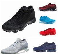 Wholesale max tn sports shoes - 2018 New Rainbow VaporMax TN Plus BE TRUE Men Woman Shock Running Shoes For Real Quality Fashion Mens Casual Vapor Maxes Sports Sneakers