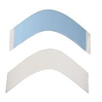 синий парик высокого качества оптовых-Бесплатная доставка 36 шт. / лот ,Синий кружева поддерживать высокое качество сильная двойная лента для накладки парики /мужской