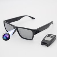 Wholesale new sunglasses dvr for sale - Group buy New P Sunglasses Camcorder with No Hole Invisibility Camera DVR Video Record Recording Remote Control Touch Switch Built in GB Storage