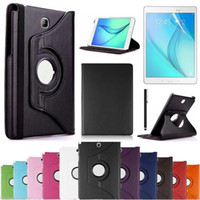 Wholesale s4 mini case for sale - 360 Rotation Stand Case Protective Cover for New iPad Air Mini Pro Samsung Tab S3 S4 T580 T830
