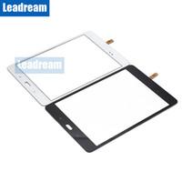 envío libre de la pc de la tableta al por mayor-50 unids pantalla táctil digitalizador lente de cristal Tablet PC pantalla con cinta para Samsung Galaxy Tab A 8.0 T350 envío gratis