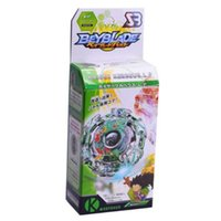 Wholesale beyblade toys online - 1 pc Spinning Top Beyblade Burst With Launcher And Original Box Metal Plastic Fusion D Classic Toys Gift For Kids Adults