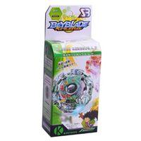 ingrosso beyblade gioca-1 pz Spinning Top Beyblade Burst con Launcher e scatola originale 3056 Metal Plastic Fusion 4D Classic Toys Regalo per bambini Adulti
