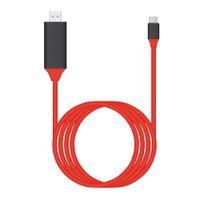 ingrosso usb esteso-USB 3.1 Cavo USB da C a HDMI Tipo da C a HDMI Convertitore 4K 30Hz HD Grafica video esterna Estendere cavo / adattatore 2M
