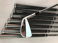 Wholesale branded golf clubs for sale - Group buy Brand New MP Iron Set MP18 Golf Forged Irons Golf Clubs P Steel Shaft With Head Cover