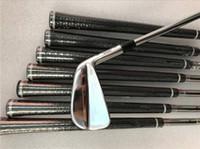 новые крышки для гольфа оптовых-Совершенно новый комплект утюга MP-18 Кованые утюги MP18 Гольф-клубы 3-9P Стальной вал с головкой