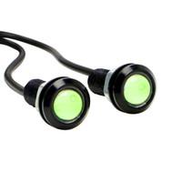 автоматический реверсивный свет оптовых-2pcs 18mm Eagle Eye LED Car DRL Daytime Running Lights Automobile Reverse Parking Singal Lamps Car-styling Auto Accessories