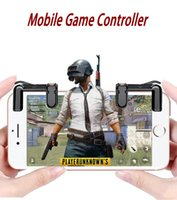 Wholesale button gamepad - Phone Gamepad Trigger Fire Button Sensitive Shoot and Aim Keys L1 R1 Shooter Joystick for PUBG Fortnite Rules of Survival