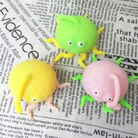 Wholesale cheap animal soft toys online - Vent Toys Decompression Child Kid Hand Pinch Toy Octopus Modelling Trick Gift Soft Squeeze Lovely Most Cheap ly V