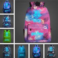 Wholesale harry potter fabric for sale - 12 colors Fortnite Backpacks School Bag Harry Potter bag Noctilucous Backpack Student Shoulder Bags Luminous Backpacks Storage Bags T1D041