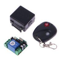 interruptor de control remoto 315 mhz al por mayor-DC 12V 10A Interruptor de control remoto inalámbrico 315MHz Transmisor + Módulo de receptor