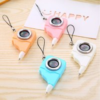 Wholesale camera ballpoint for sale - Group buy 12Pcs Korean Cute Camera Ballpoint Pen Novelty Office School Stationary Kawaii Kids Gift Rollerball Stationery Store Thing Bts